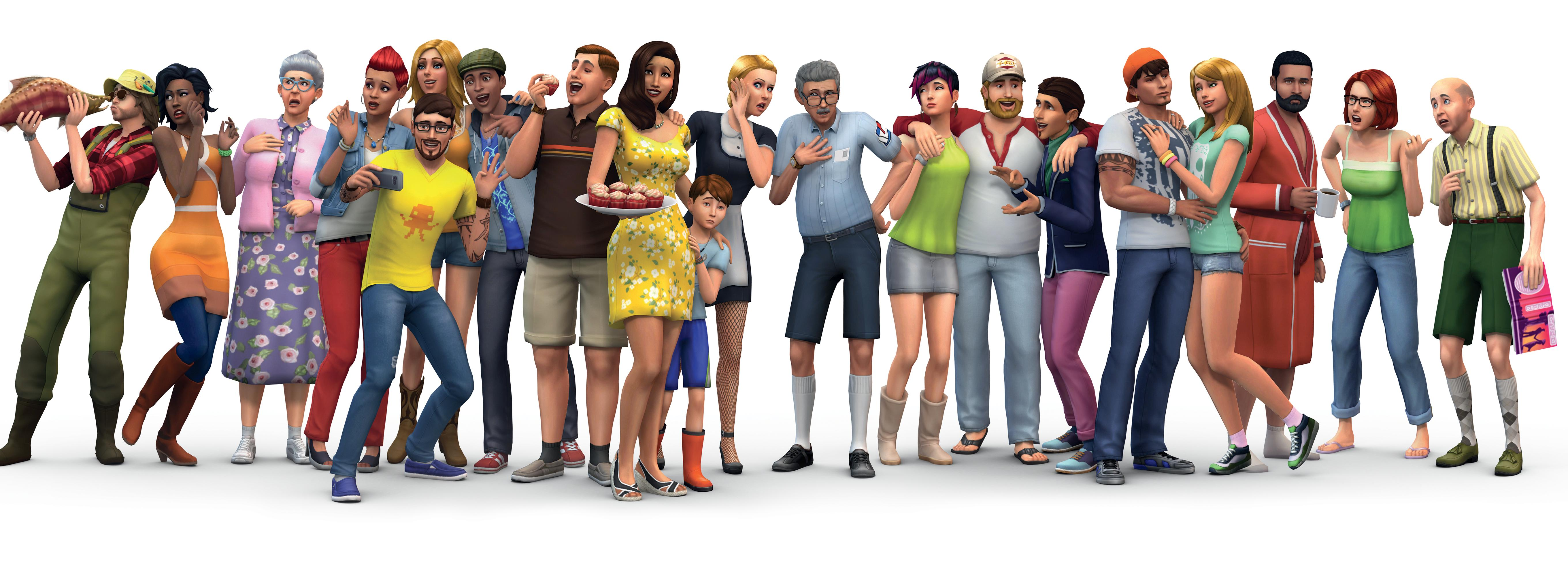 how to create a family pic on the sims 4